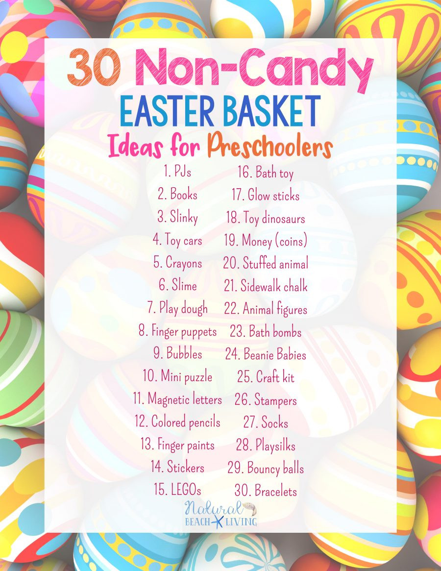 Kindergarten Easter Party Ideas  30 Perfect Non Candy Easter Basket Ideas for Preschoolers