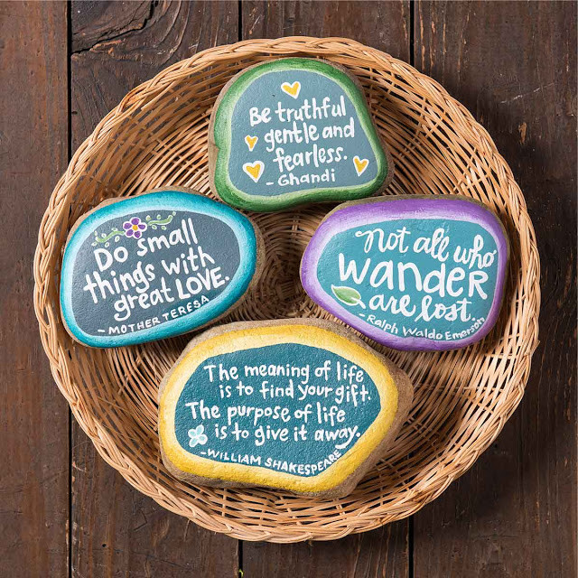 Kindness Rocks Quotes  100 Kindness Rock Painting Ideas & Sayings I Love