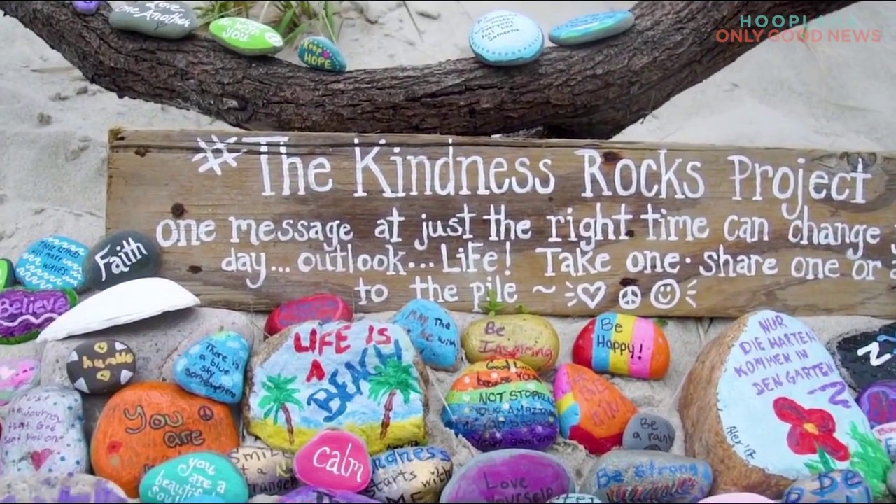 "Kindness Rocks Quotes  These ""Kindness Rocks"" Are Starting A Happiness Movement"