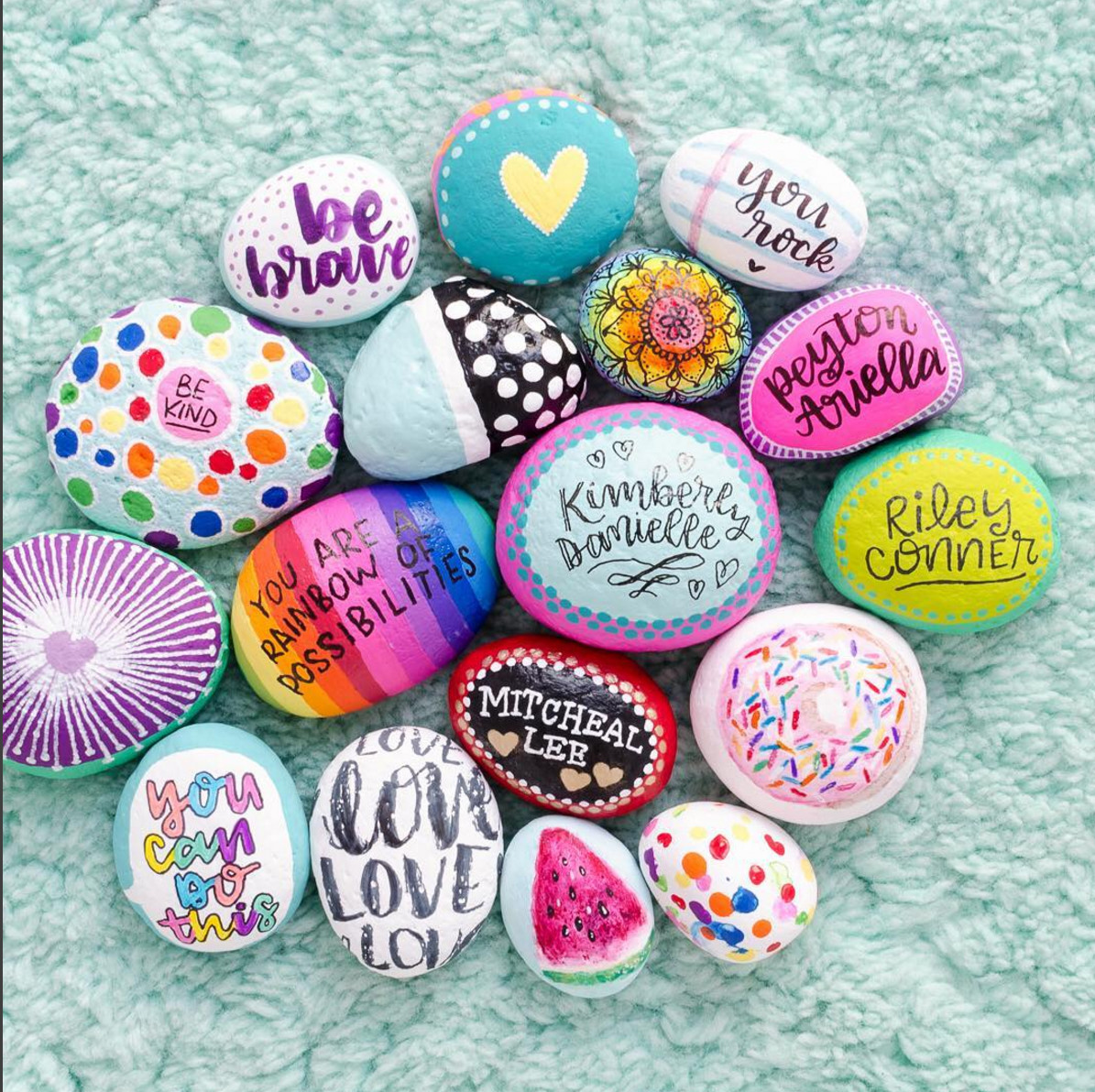 Kindness Rocks Quotes  10 INSPIRING PAINTED ROCKS FOR SPREADING KINDNESS