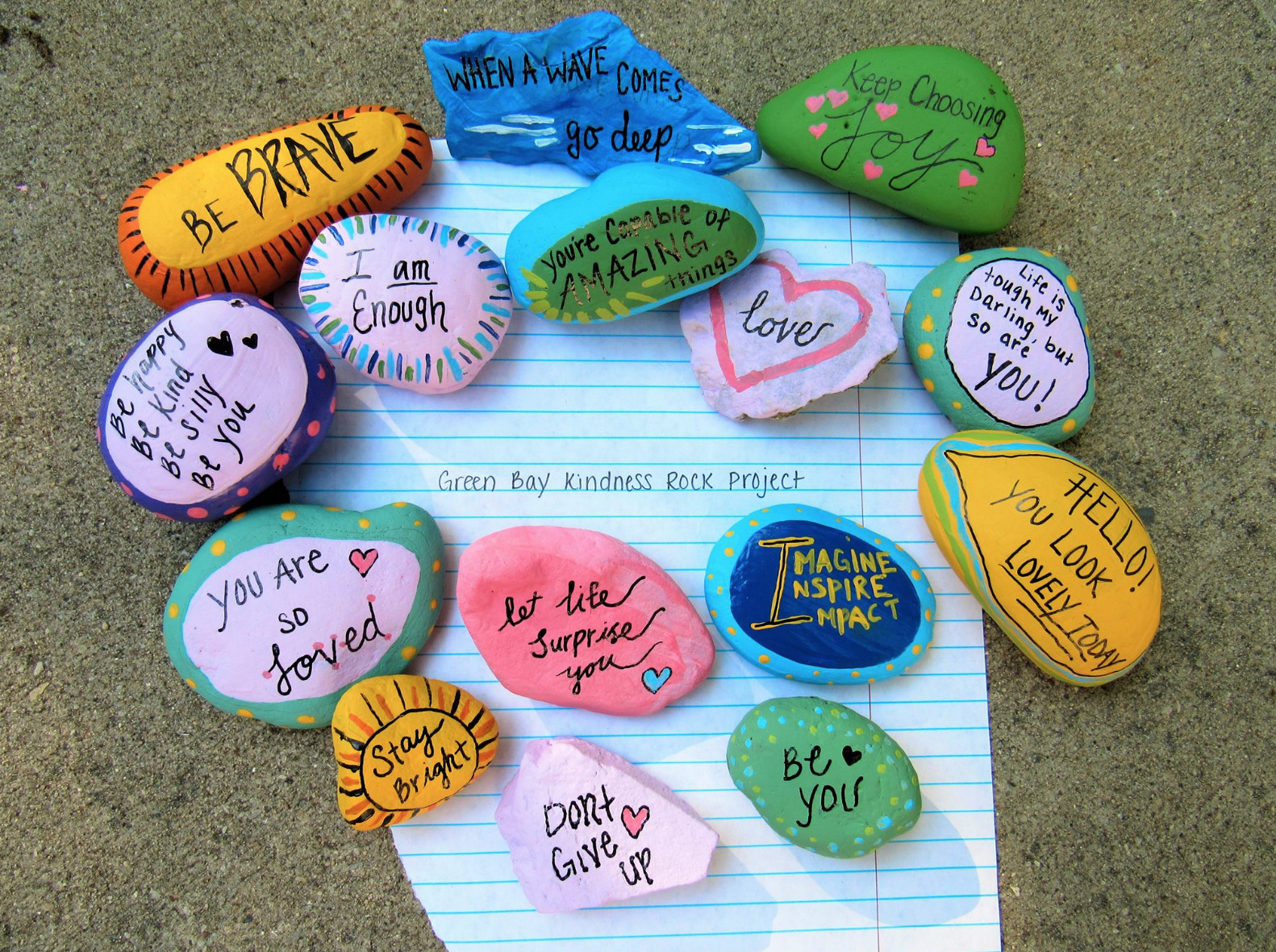 Kindness Rocks Quotes  Kindness Rocks to Pin on Pinterest PinsDaddy