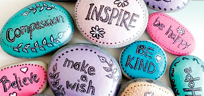 Kindness Rocks Quotes  Ameriprise hosting kindness rocks event Austin Daily