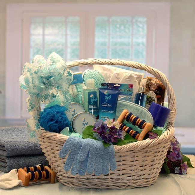Ladies Gift Basket Ideas  25 best ideas about Spa t baskets on Pinterest