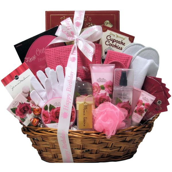 Ladies Gift Basket Ideas  17 Best images about Birthday Gift Baskets for Her on