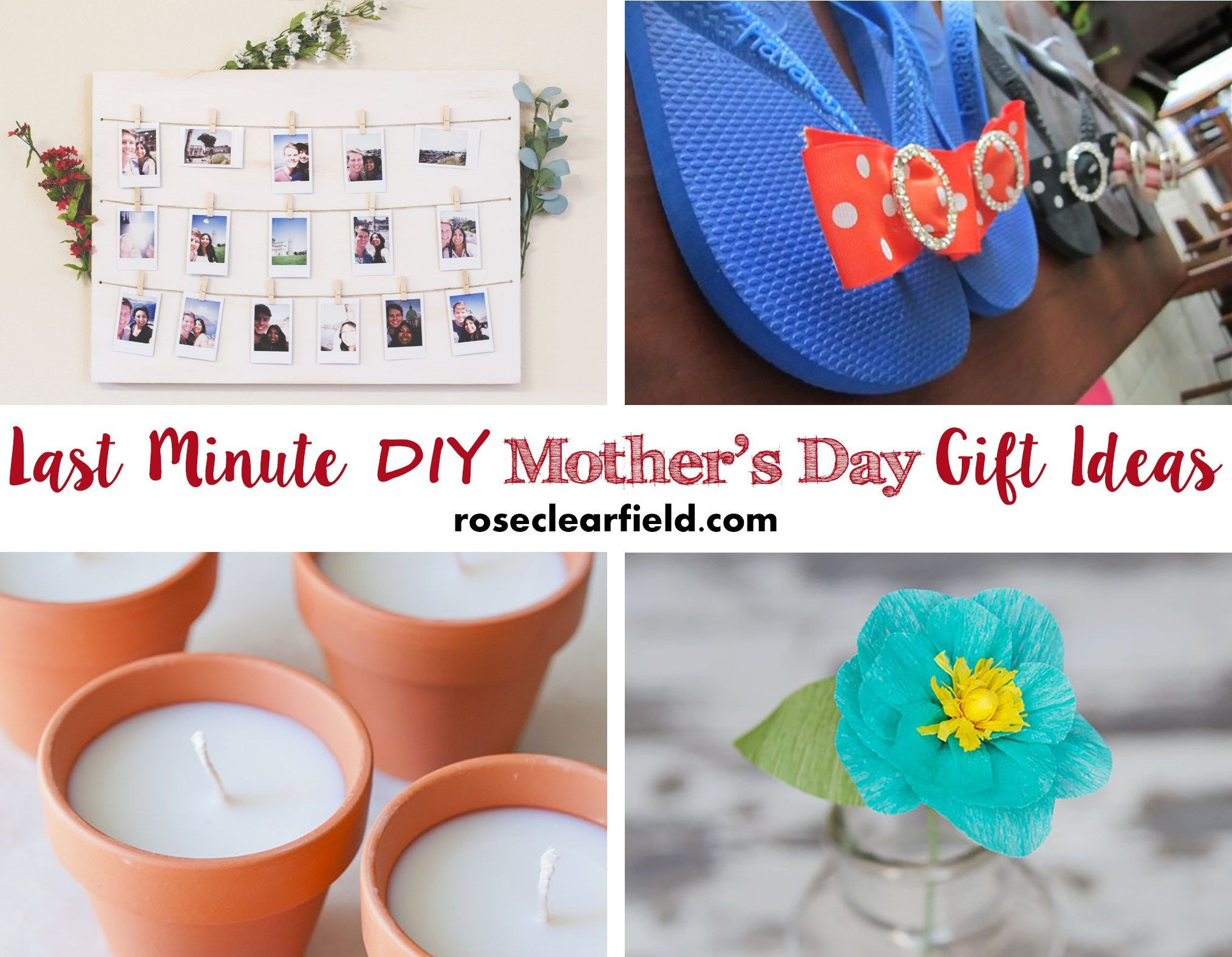 Last Minute Father'S Day Gift Ideas  Last Minute DIY Mother s Day Gift Ideas