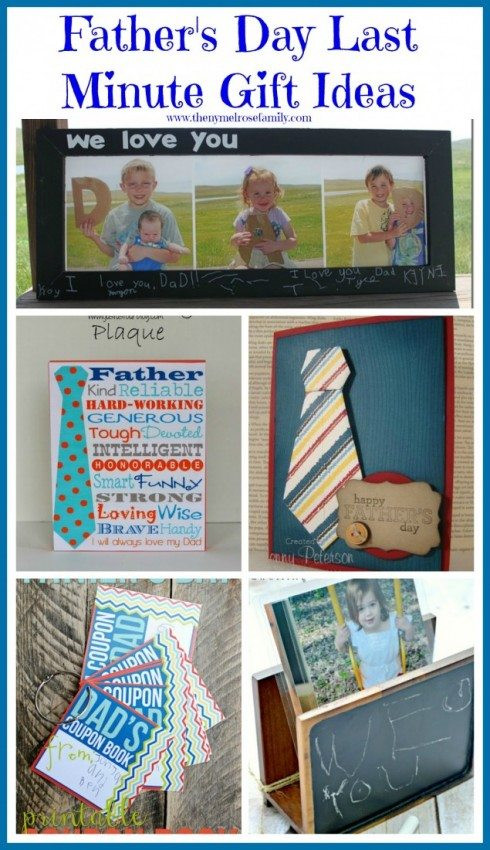 Last Minute Father'S Day Gift Ideas  Father s Day Last Minute Gift Ideas The Melrose Family