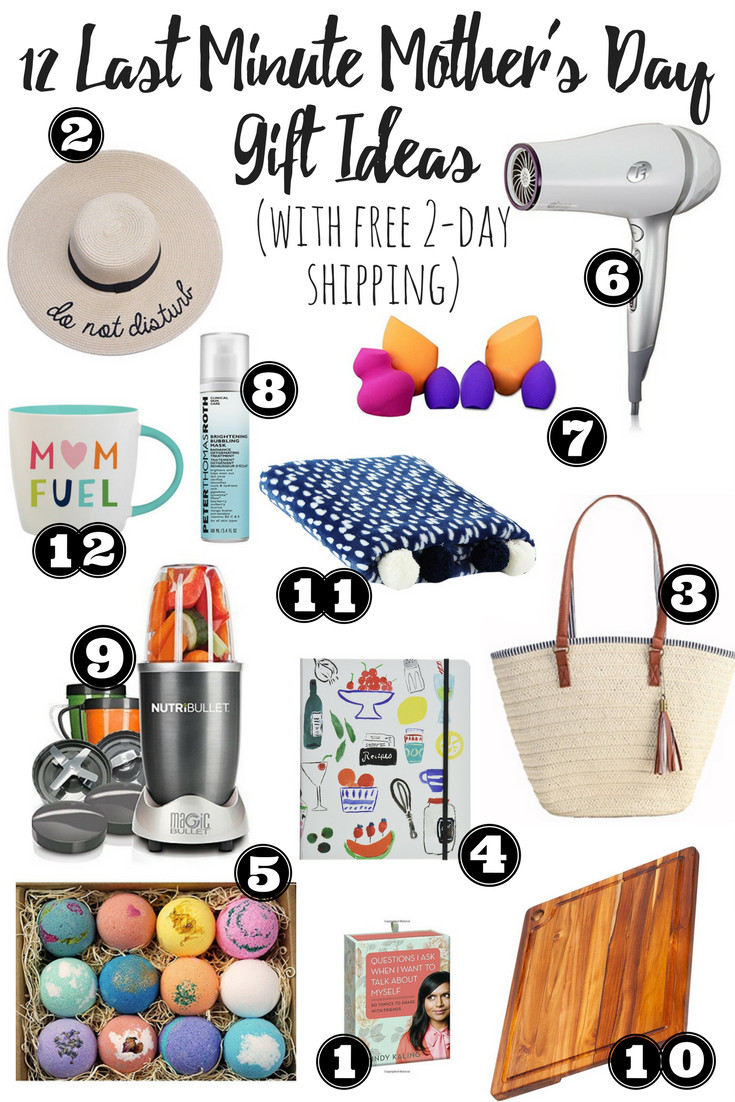 Last Minute Father'S Day Gift Ideas  12 Last Minute Mother s Day Gift Ideas with 2 day free