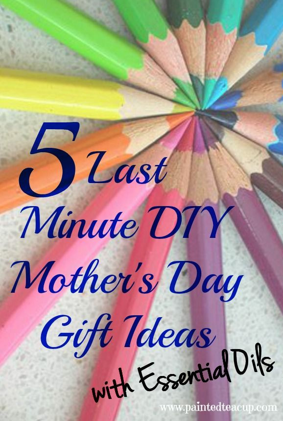 Last Minute Father'S Day Gift Ideas  5 Last Minute DIY Mother s Day Gift Ideas
