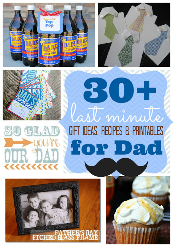 Last Minute Father'S Day Gift Ideas  Ginger Snap Crafts Over 30 Last Minute Gift Ideas
