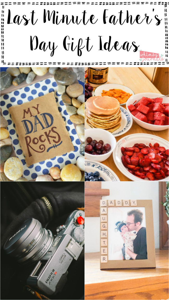 Last Minute Father'S Day Gift Ideas  Easy Last Minute Father's Day Gift Ideas – Whimsy Journals