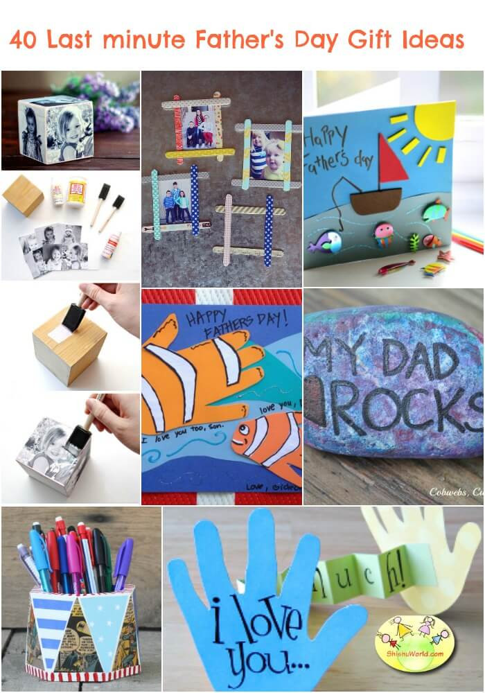 Last Minute Father'S Day Gift Ideas  40 Last Minute Father s Day t ideas DIY and Ready made