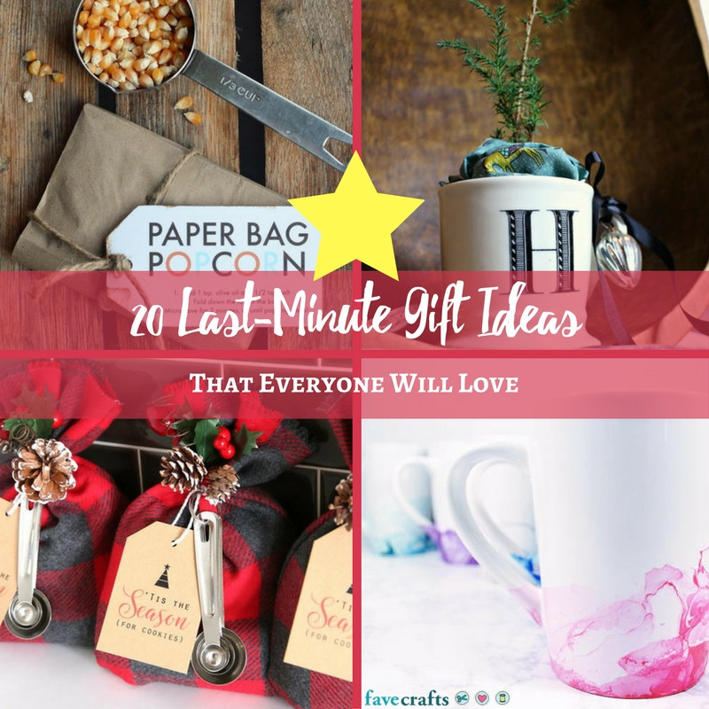 Last Minute Father'S Day Gift Ideas  20 Last Minute Gift Ideas That Everyone Will Love FaveCrafts