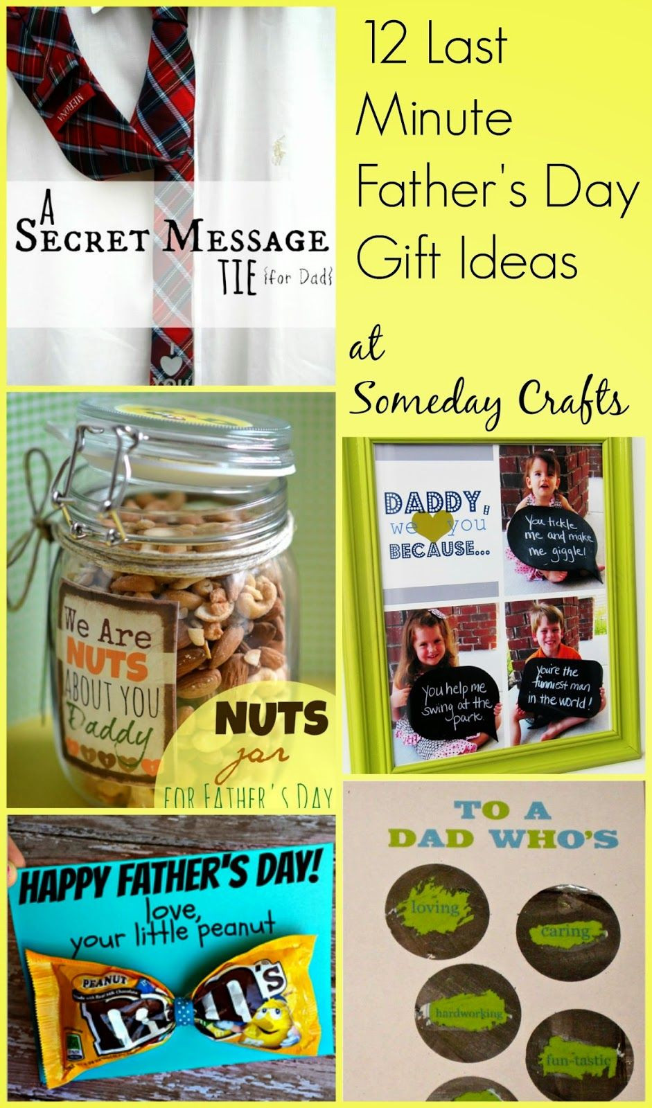 Last Minute Father'S Day Gift Ideas  Someday Crafts 12 Last Minute Father s Day Gifts