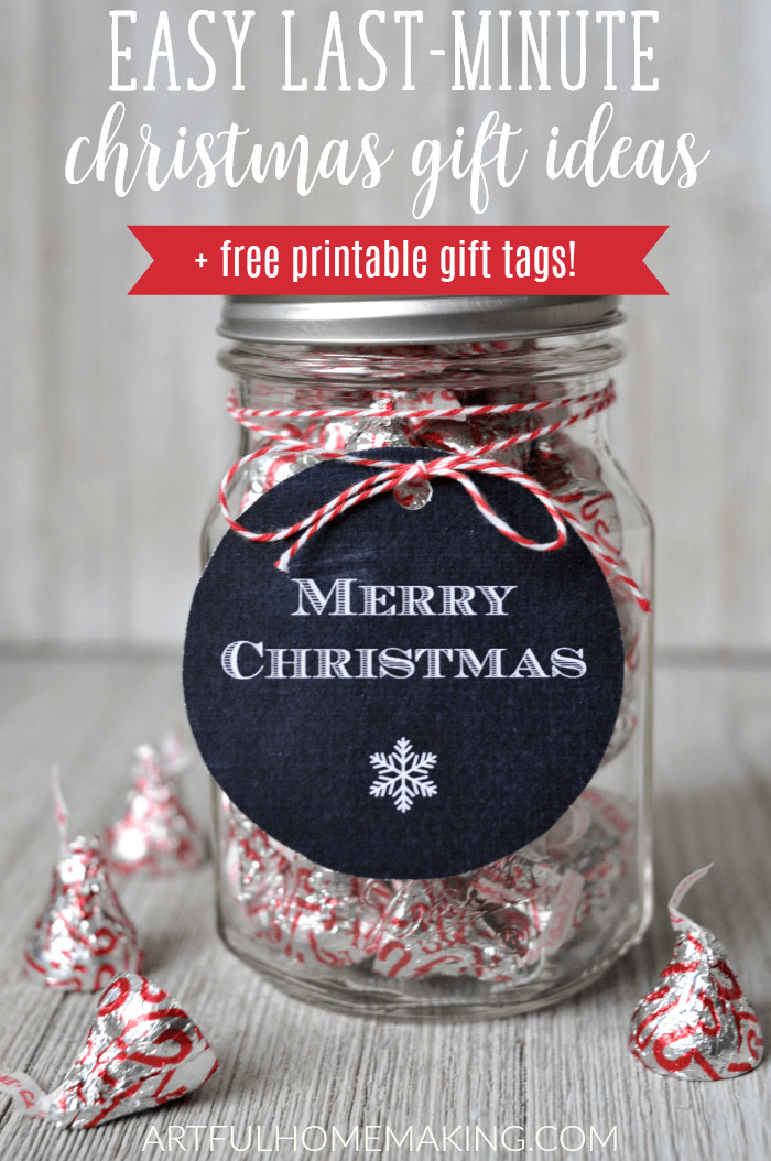 Last Minute Holiday Gift Ideas  Last Minute Christmas Gift Ideas in Mason Jars Artful