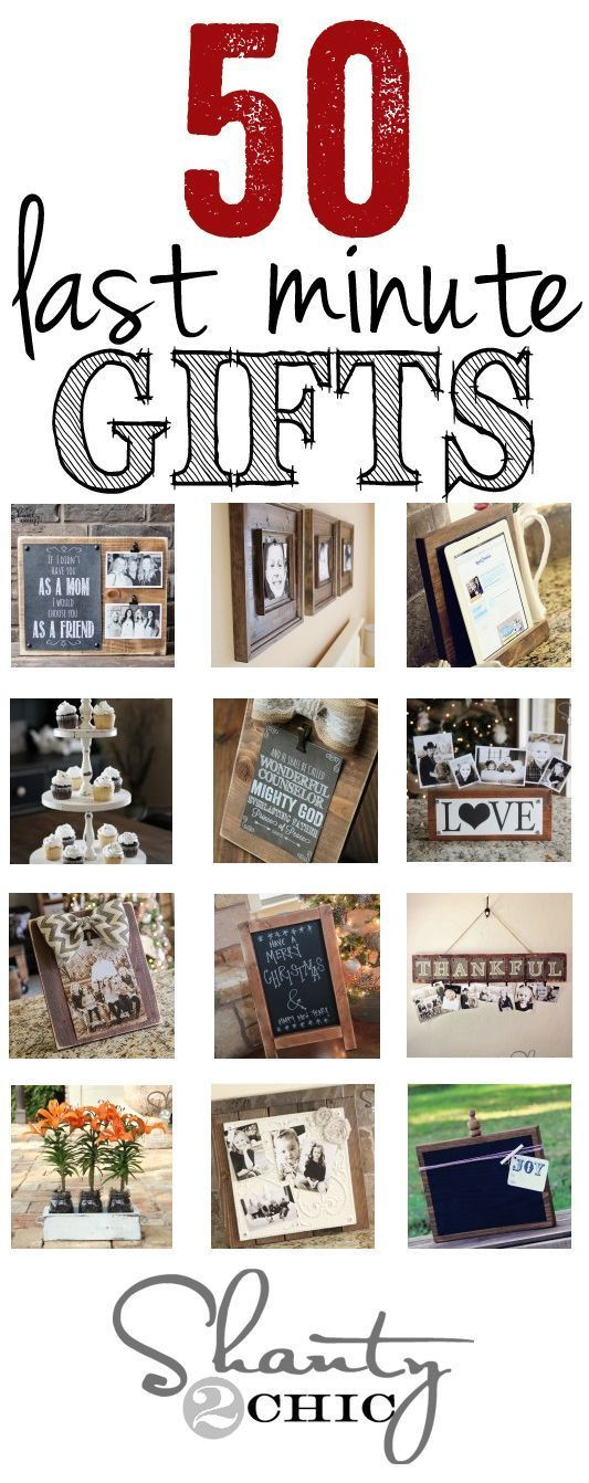 Last Minute Holiday Gift Ideas  Christmas – Craft Gossip