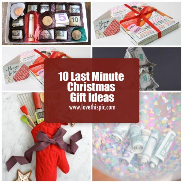 Last Minute Holiday Gift Ideas  10 Last Minute Christmas Gift Ideas