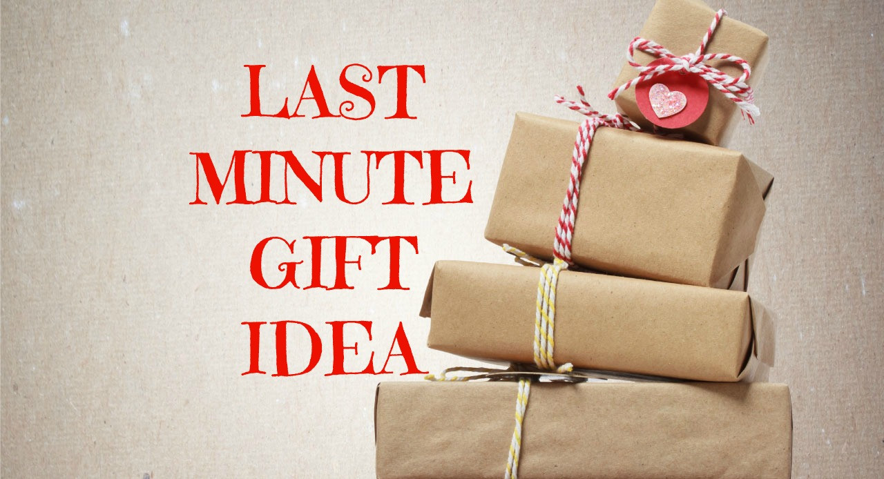 Last Minute Holiday Gift Ideas  Need a Last Minute Gift Idea Give a Book Instead of a