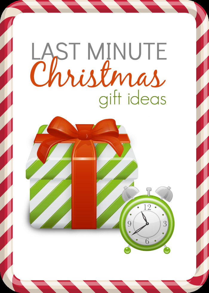 Last Minute Holiday Gift Ideas  Last Minute Christmas Gift Ideas