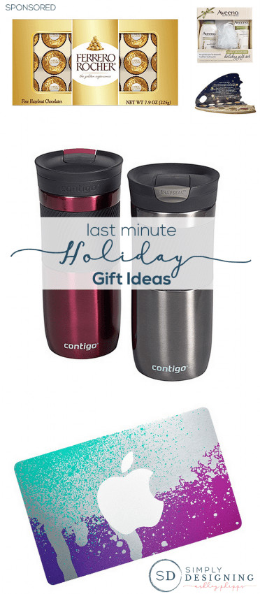 Last Minute Holiday Gift Ideas  Last Minute Holiday Gift Ideas