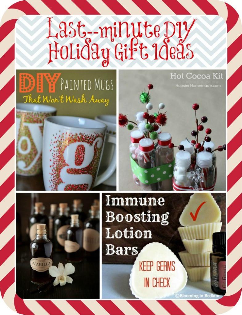 Last Minute Holiday Gift Ideas  9 super simple last minute DIY holiday t ideas