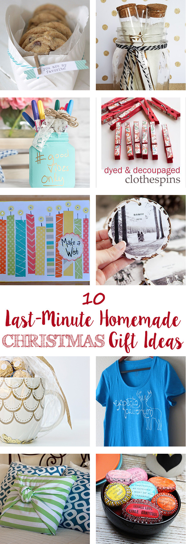 Last Minute Holiday Gift Ideas  Last Minute Homemade Christmas Gift Ideas • Rose Clearfield
