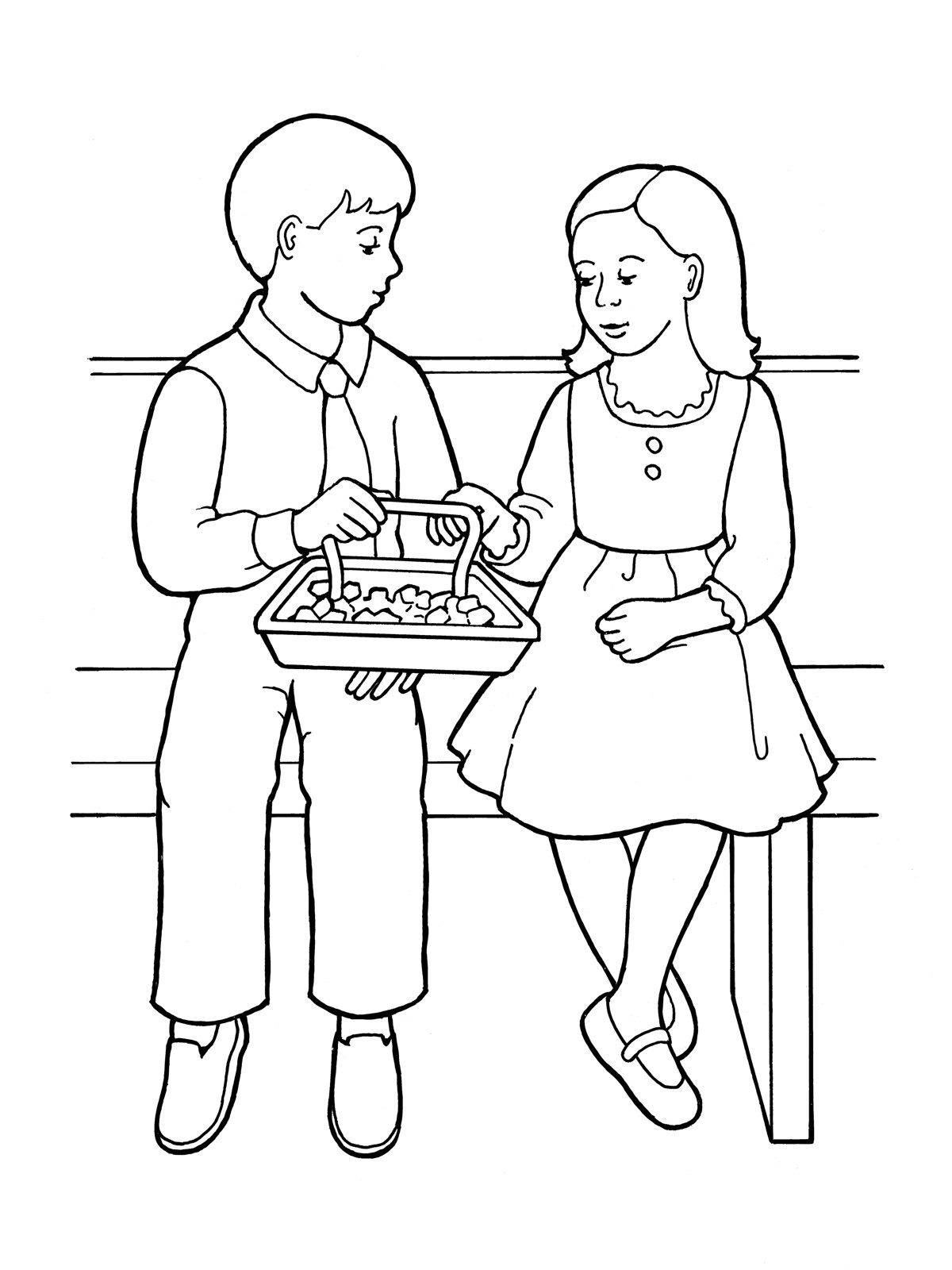 Lds Chruch Coloring Pages For Boys  Sacrament clipart Clipground