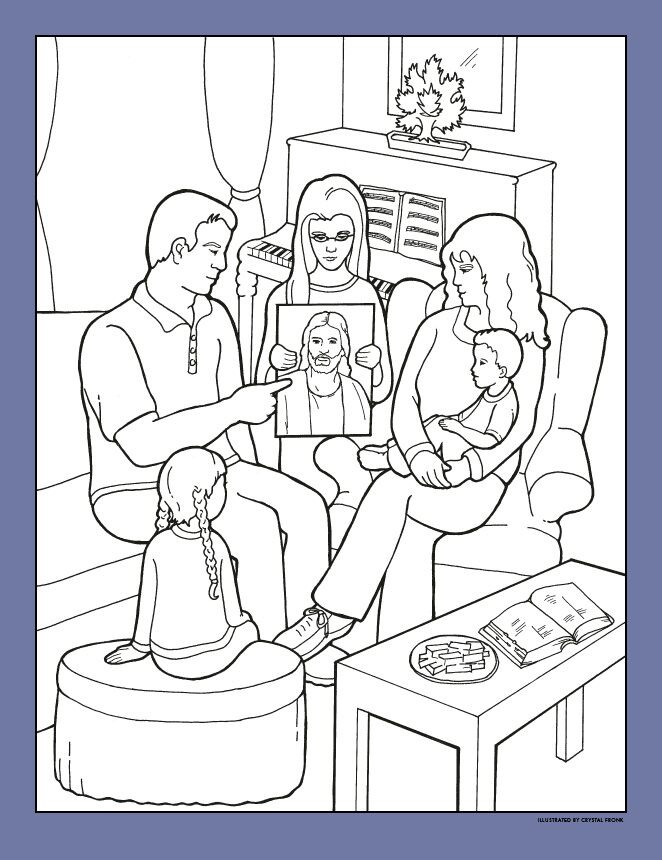 Lds Chruch Coloring Pages For Boys  Coloring Pages