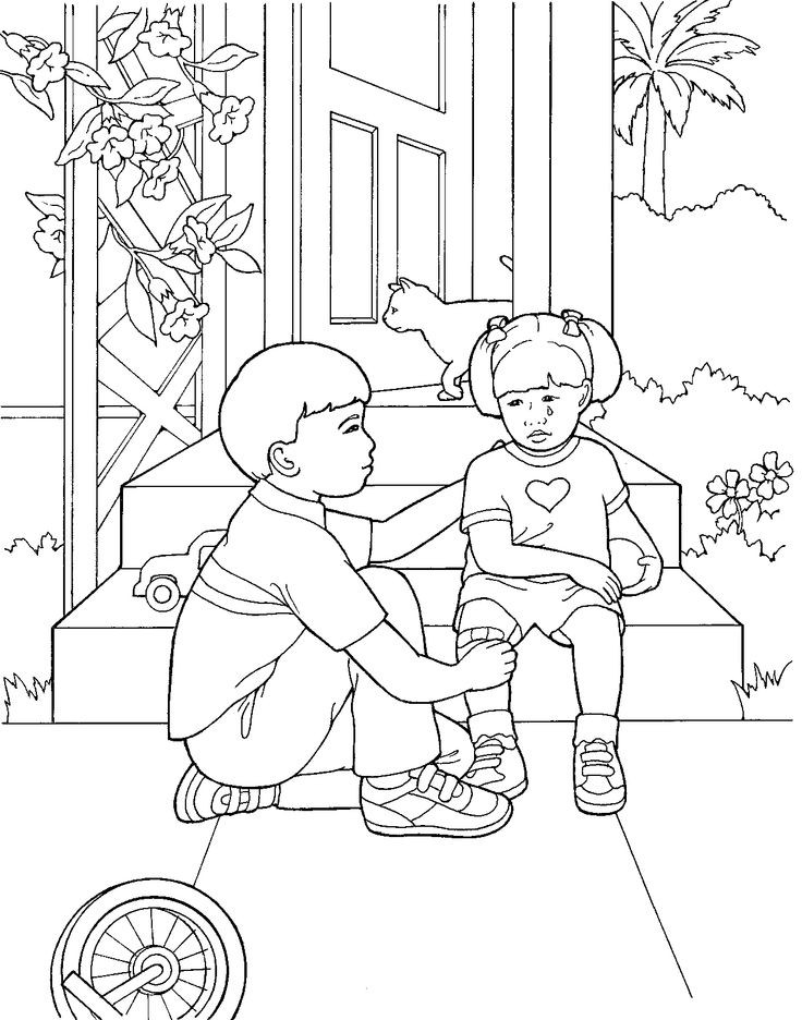 Lds Chruch Coloring Pages For Boys  45 best LDS Primary Coloring Pages images on Pinterest