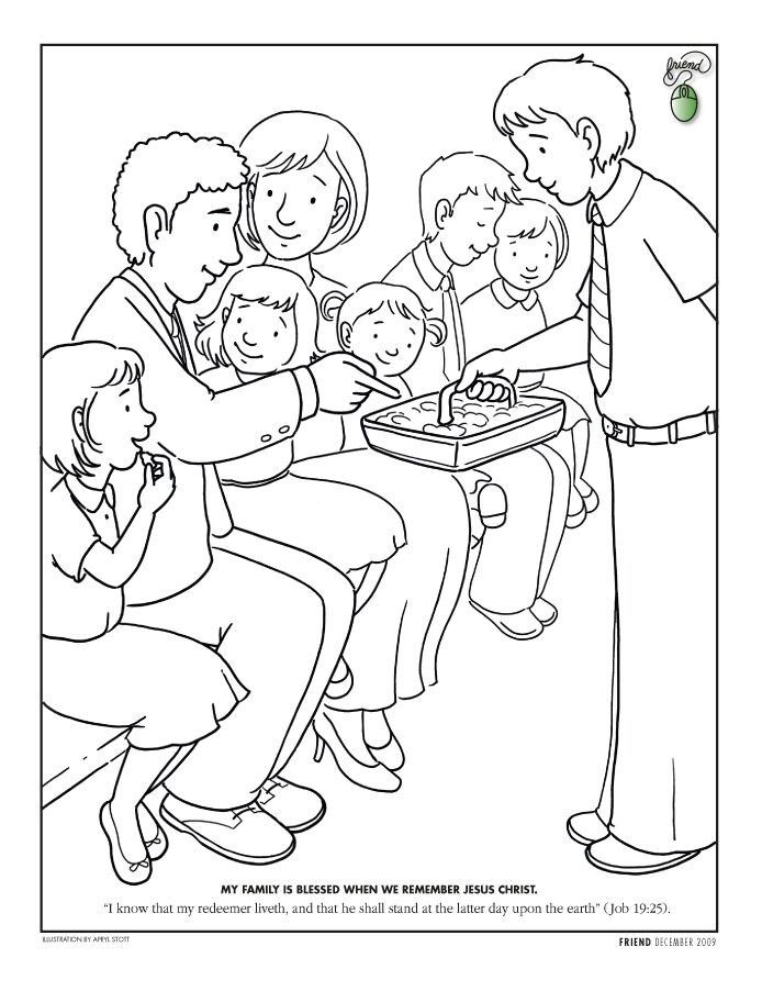 """Lds Chruch Coloring Pages For Boys  """"Coloring Page """" Liahona Dec 2009 F7 liahona"""