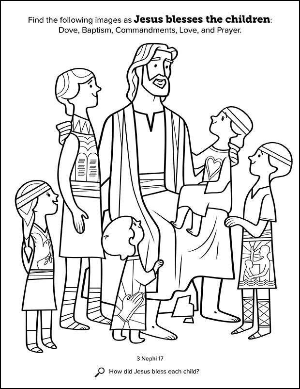 Lds Chruch Coloring Pages For Boys  Kids Having Fun with New Book of Mormon Stories Coloring