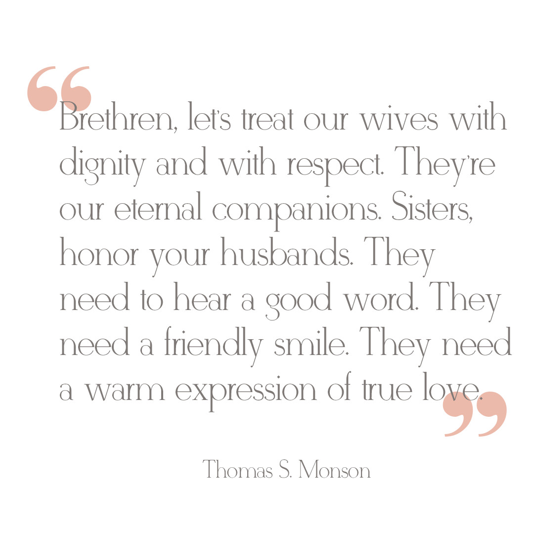 Lds Marriage Quotes  LDS Marriage Advice from President Thomas S Monson