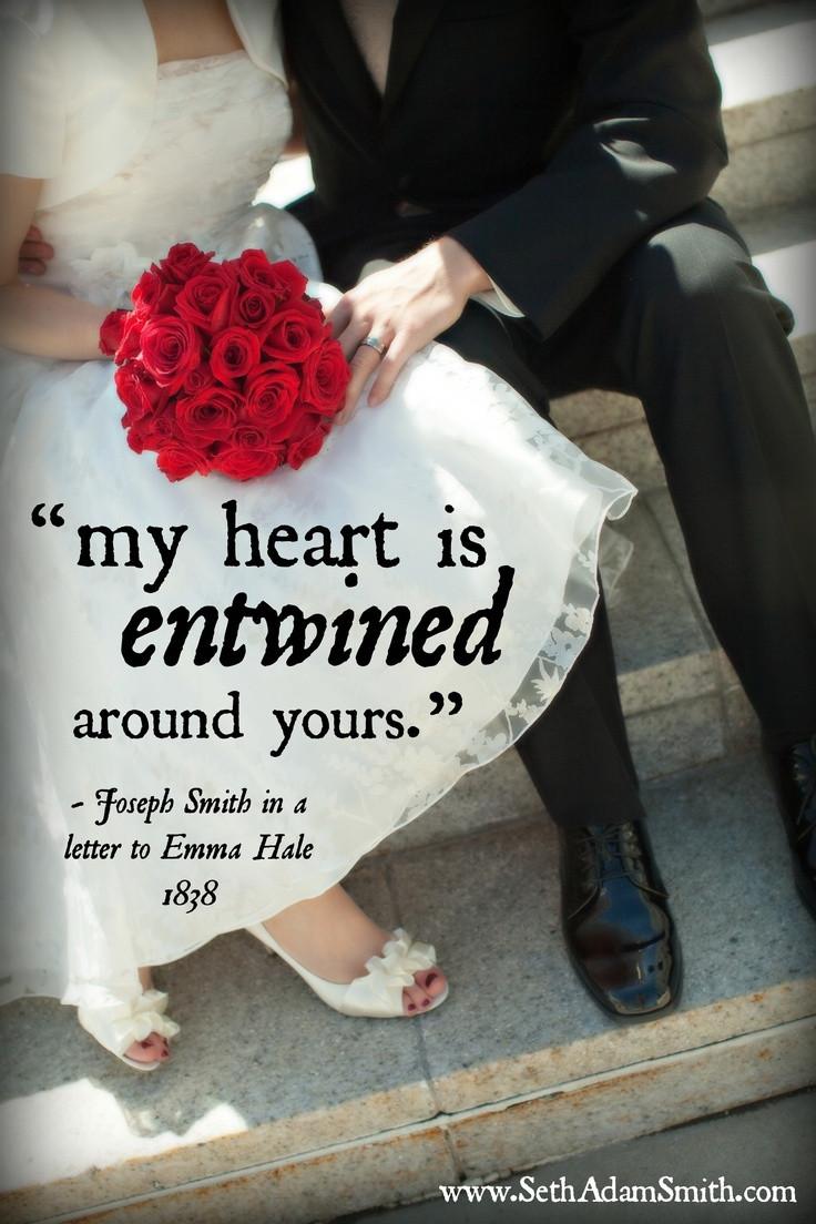 Lds Marriage Quotes  Wedding Quotes Mormon QuotesGram