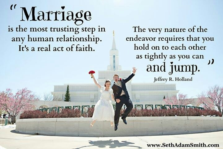 Lds Marriage Quotes  ETERNAL MARRIAGE QUOTES LDS image quotes at relatably