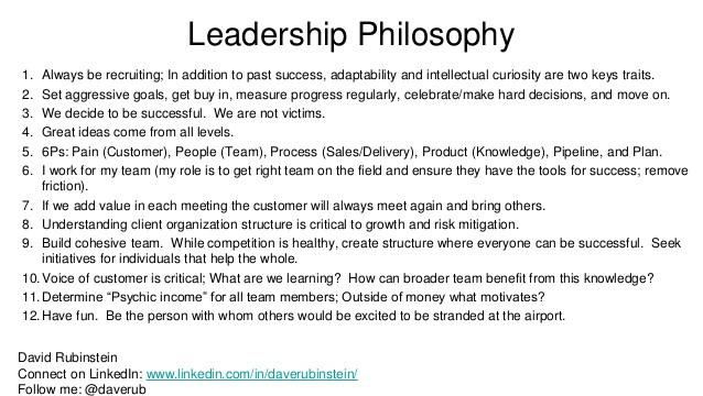 Leadership Philosophy Quotes  Leadership Philosophy
