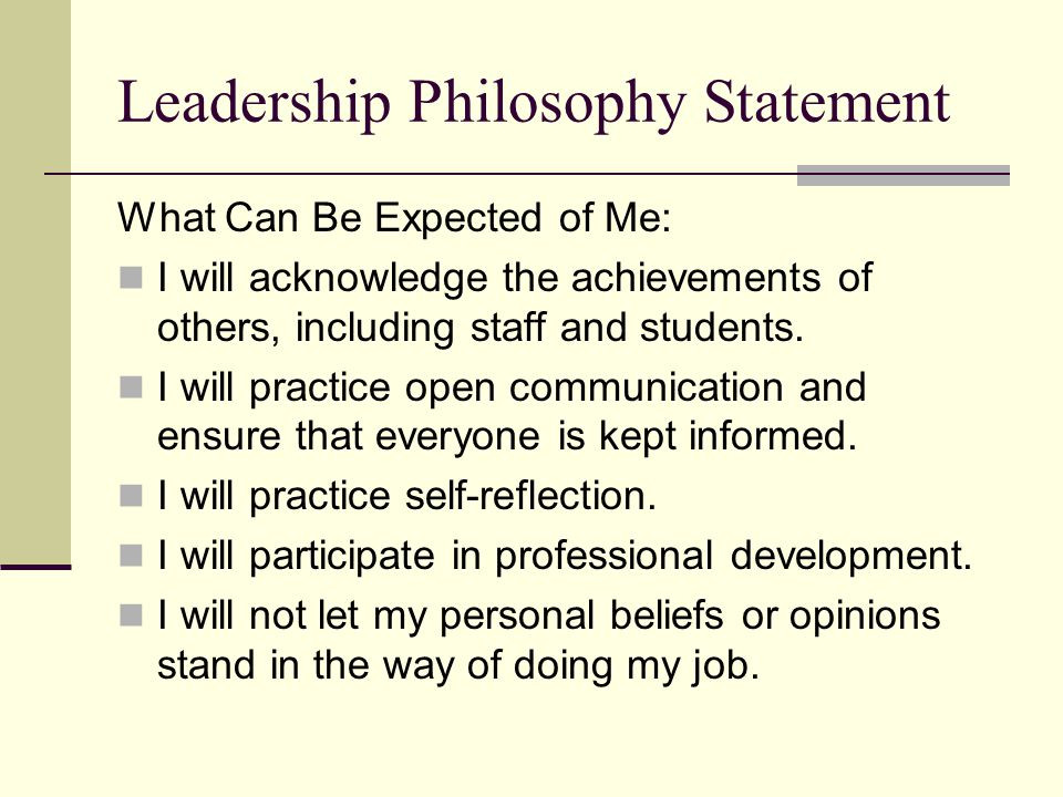 Leadership Philosophy Quotes  Leadership Philosophy ppt video online