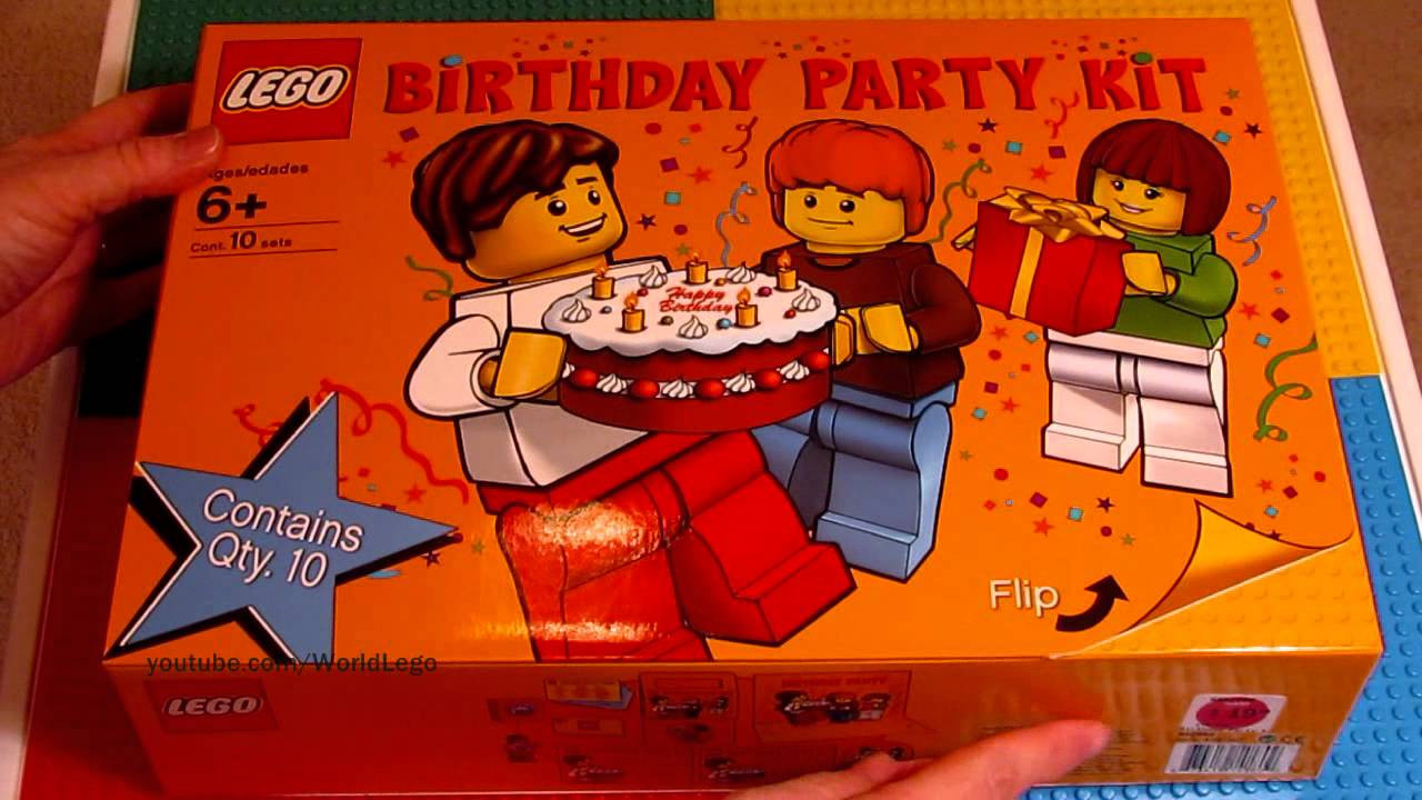 Lego Birthday Party Kit  LEGO Birthday Party Kit First entire kit on