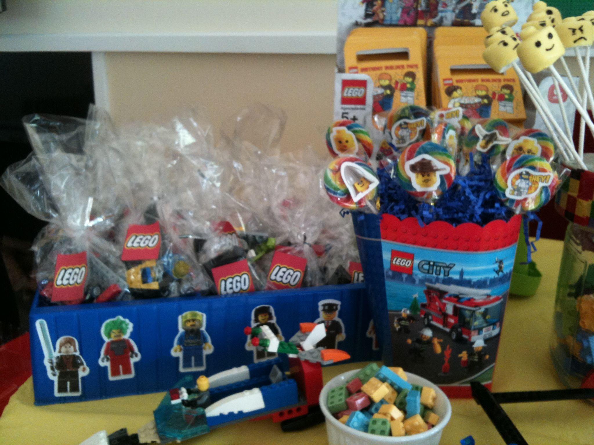 Lego Birthday Party Kit  Lego Birthday Party race car kits