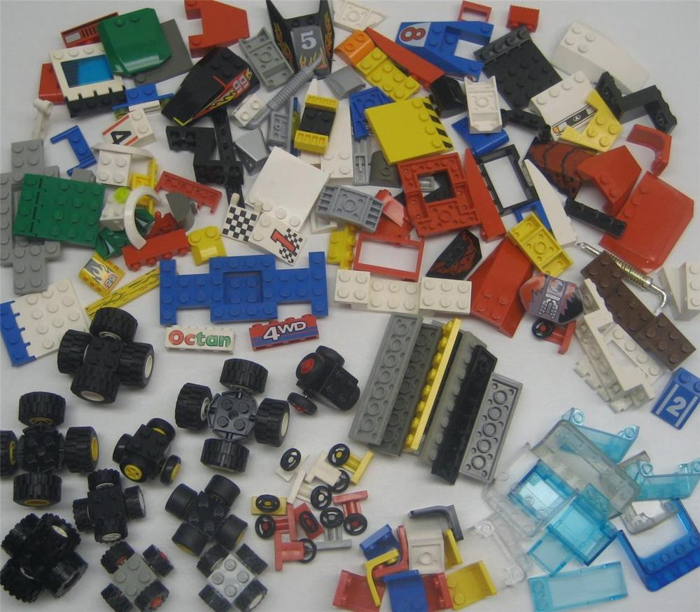 Lego Birthday Party Kit  10 LEGO RACECARS BIRTHDAY PARTY KIT custom 200 race car