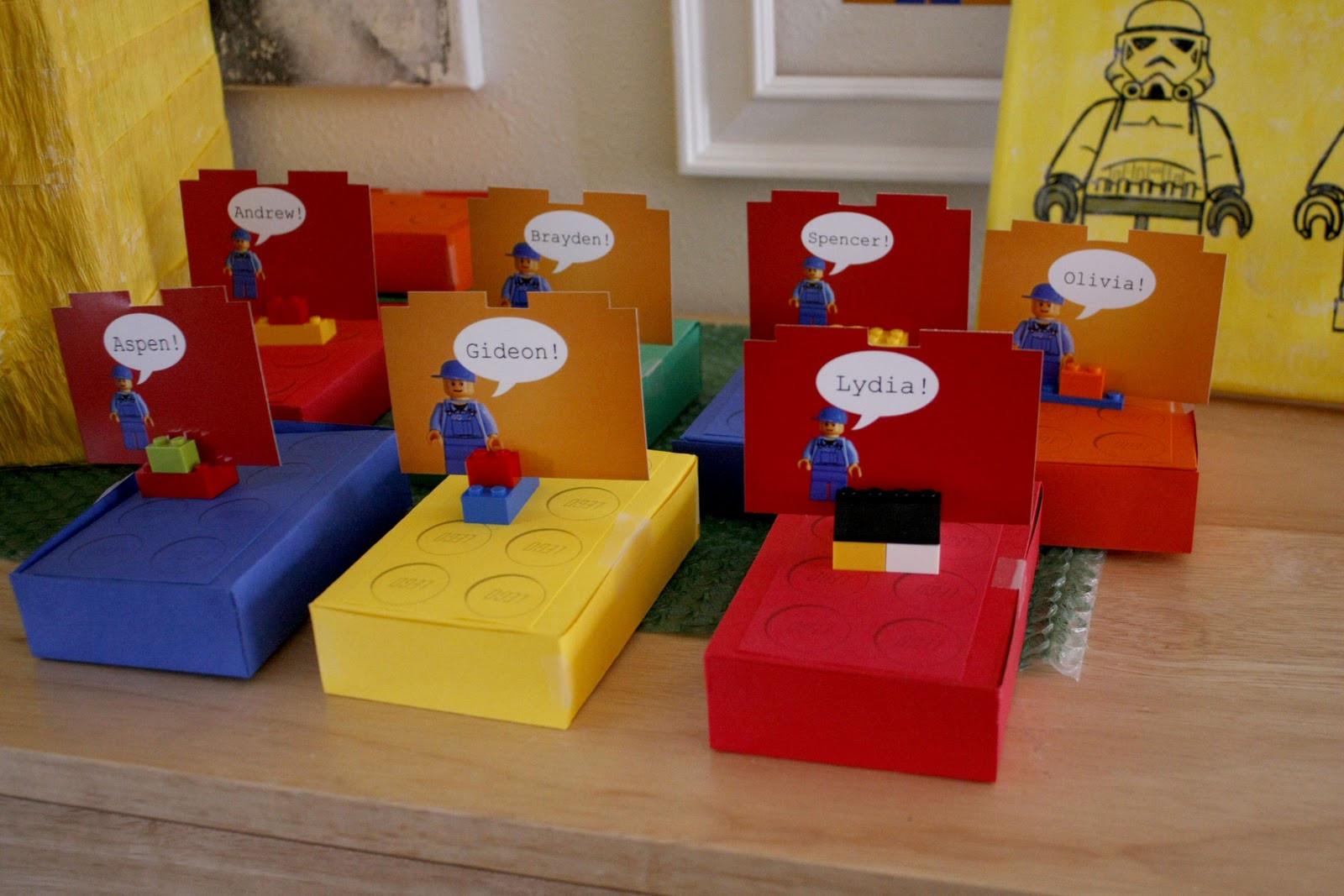 Lego Birthday Party Kit  Lego Birthday Party