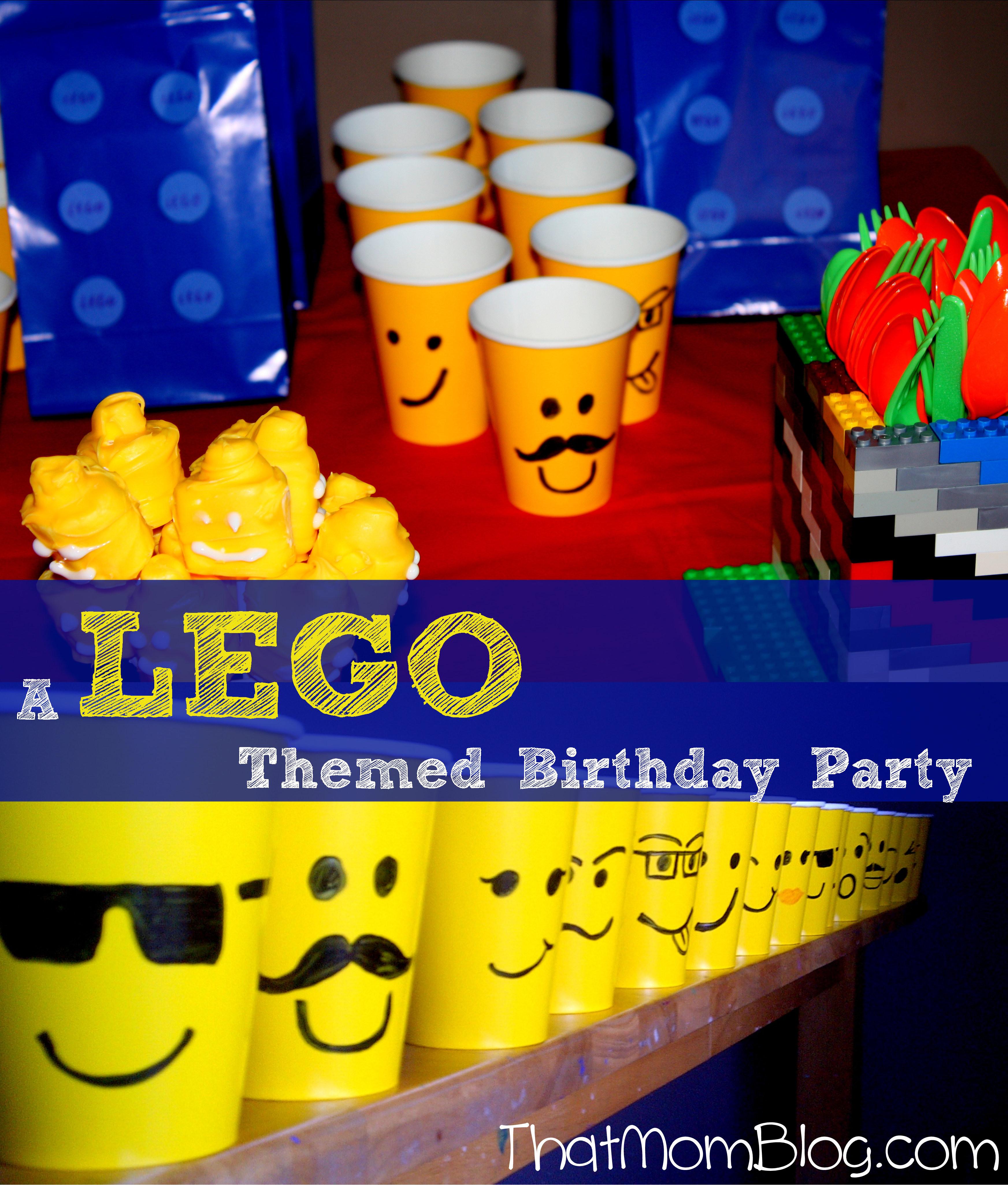 Lego Birthday Party Kit  A Lego Birthday Party