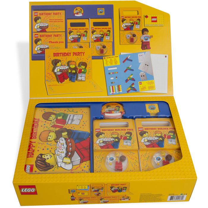 Lego Birthday Party Kit  LEGO Birthday Party Kit
