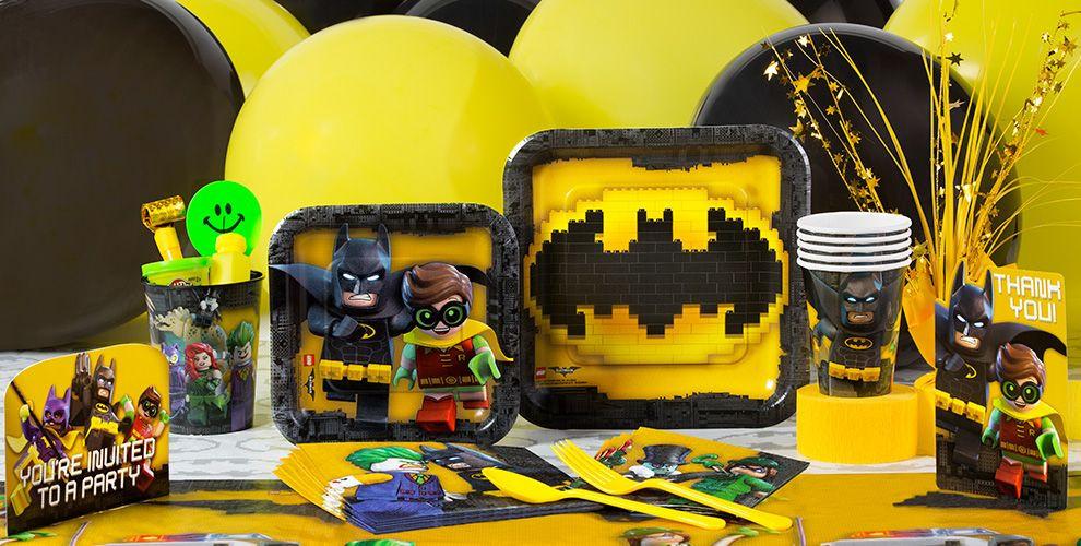 Lego Birthday Party Kit  Lego Batman Party Supplies Lego Batman Birthday Party City