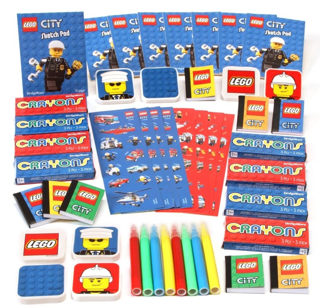 Lego Birthday Party Kit  Lego City Party Supplies Boys Party Themes