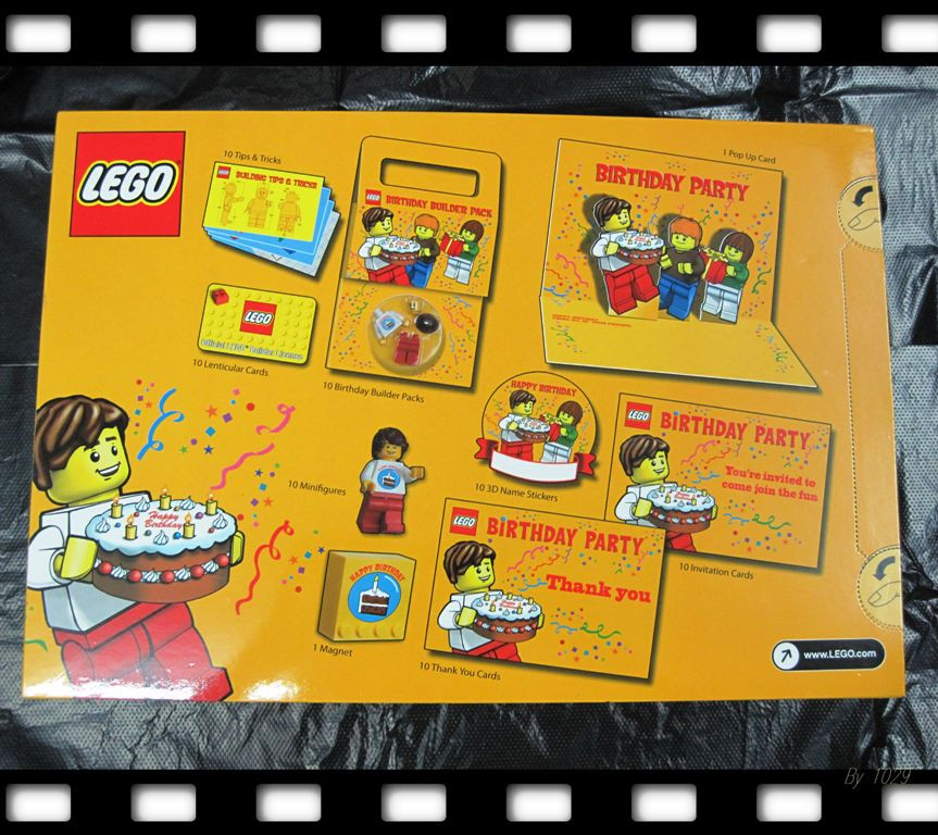 Lego Birthday Party Kit  LEGO Birthday Party Kit General LEGO Discussion