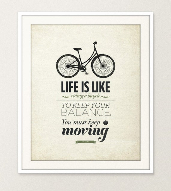Life Is Art Quote  Life quote typography Wall art 16x20 Archival Print on