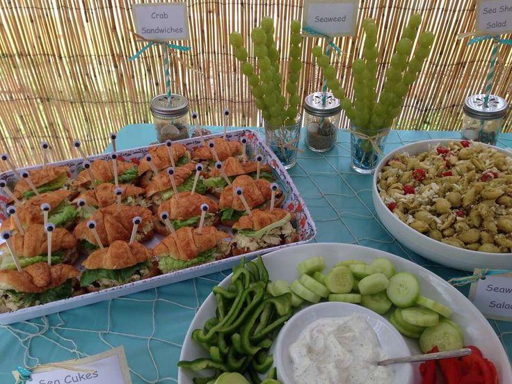 Little Mermaid Birthday Party Food Ideas  Best 25 Little mermaid food ideas only on Pinterest
