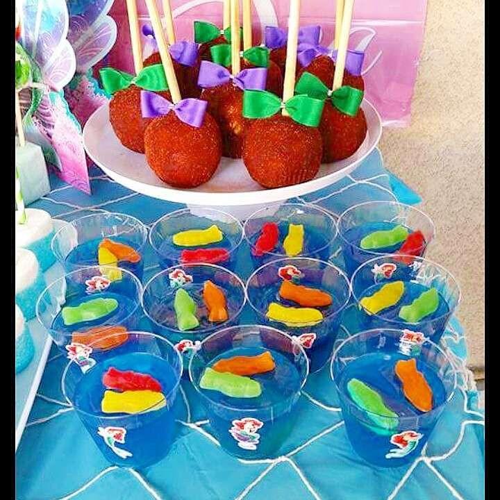 Little Mermaid Birthday Party Food Ideas  Best 25 Little mermaid food ideas on Pinterest