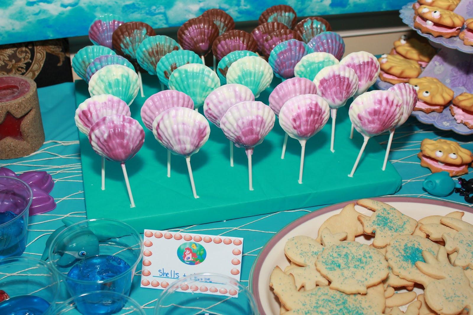Little Mermaid Party Decoration Ideas  Melissa s Party Ideas The Little Mermaid Party Ideas