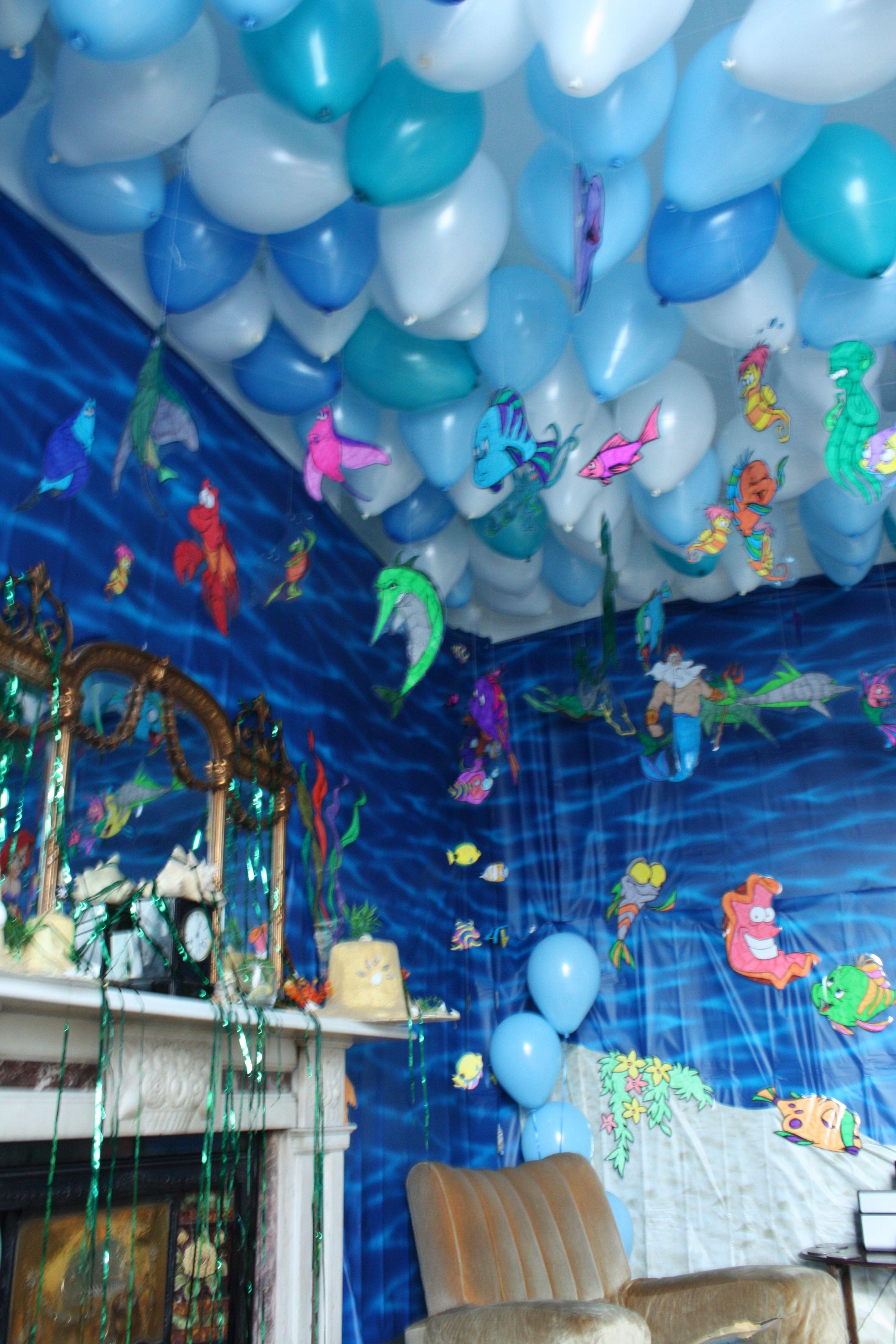 Little Mermaid Party Decoration Ideas  Baking meets Disney A Little Mermaid Hen Do