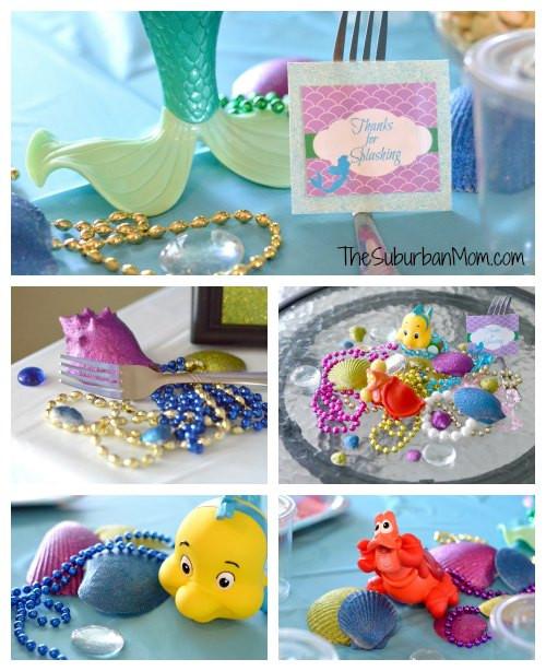 Little Mermaid Party Decoration Ideas  The Little Mermaid Ariel Birthday Party Ideas Food